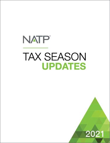 Tax Season Update Textbook (2021) - #21301
