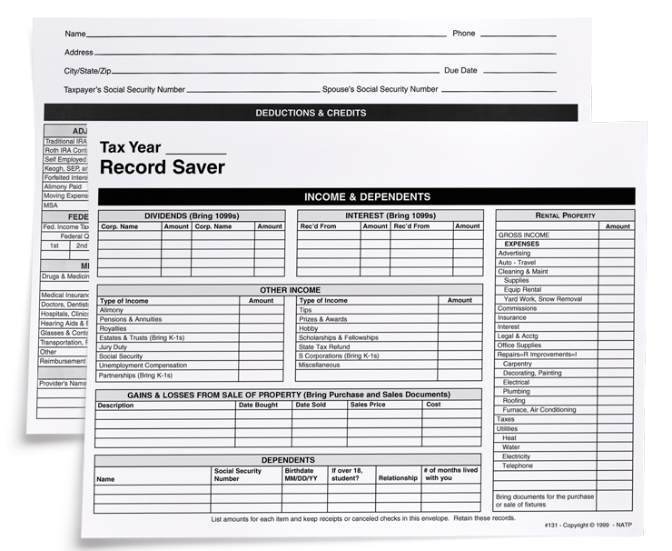 Record Saver Envelope - #131