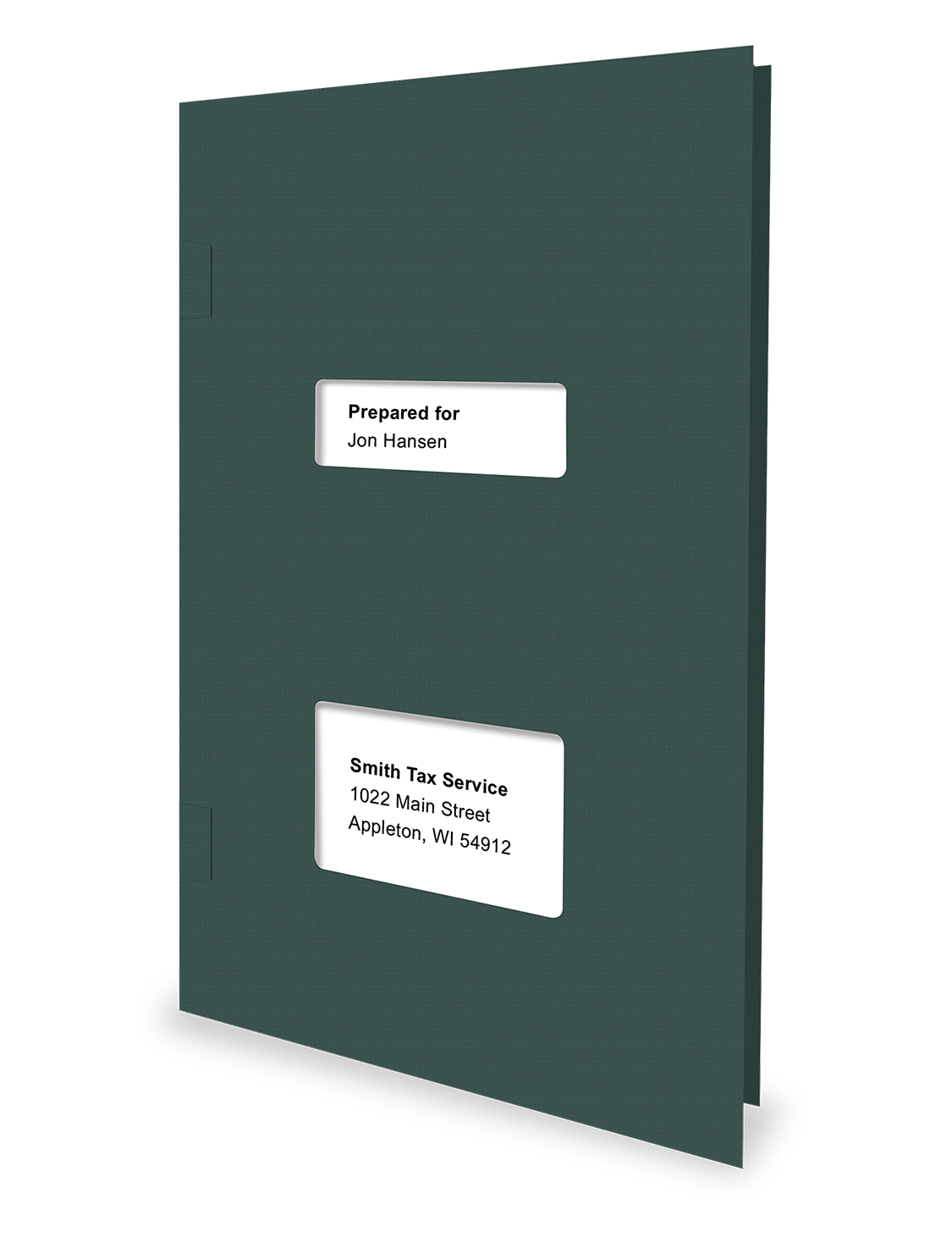 Client Folders - Green - Software Compatible - #151