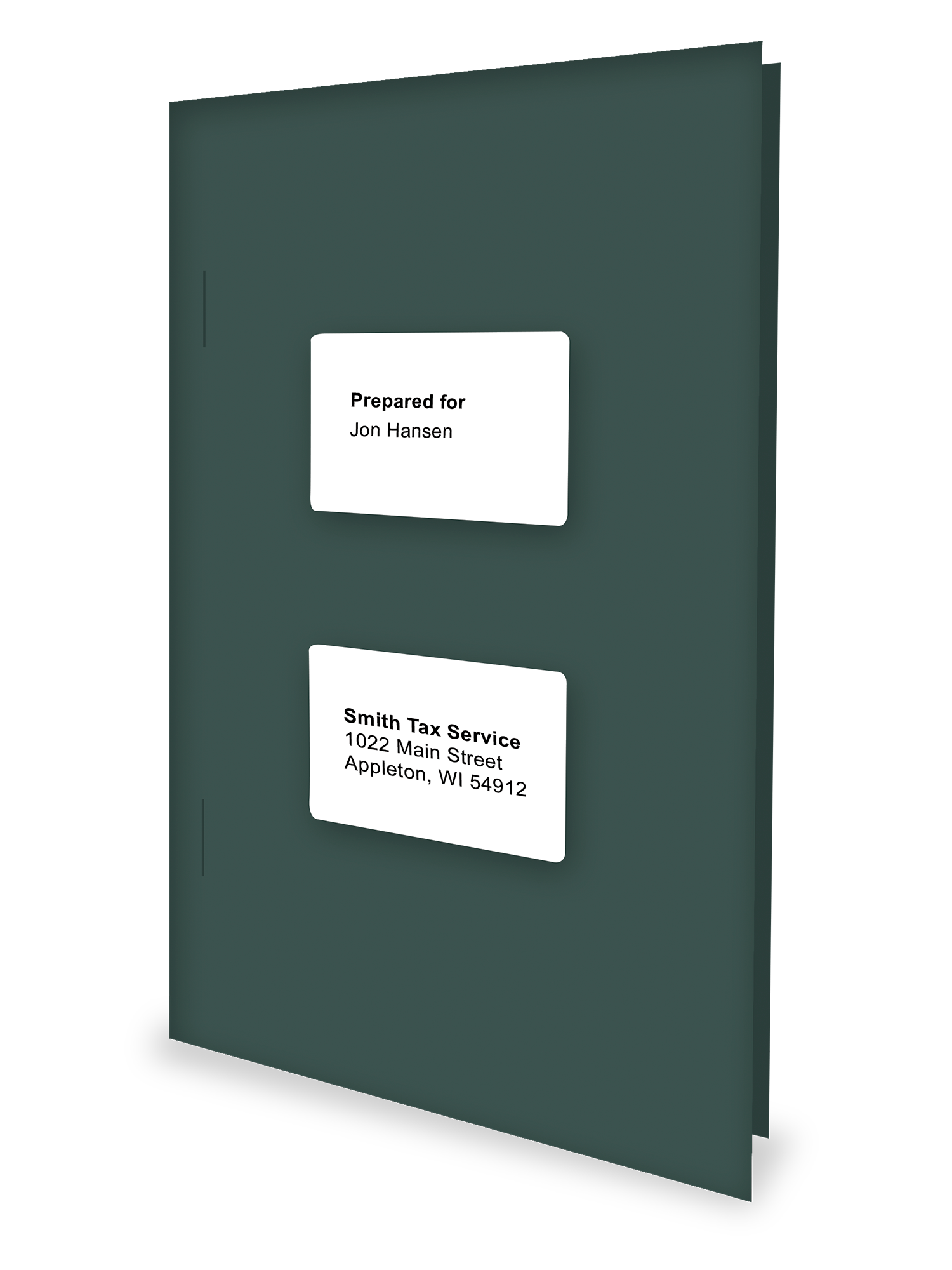 Tax Return Folders - Green - Software Compatible - #151