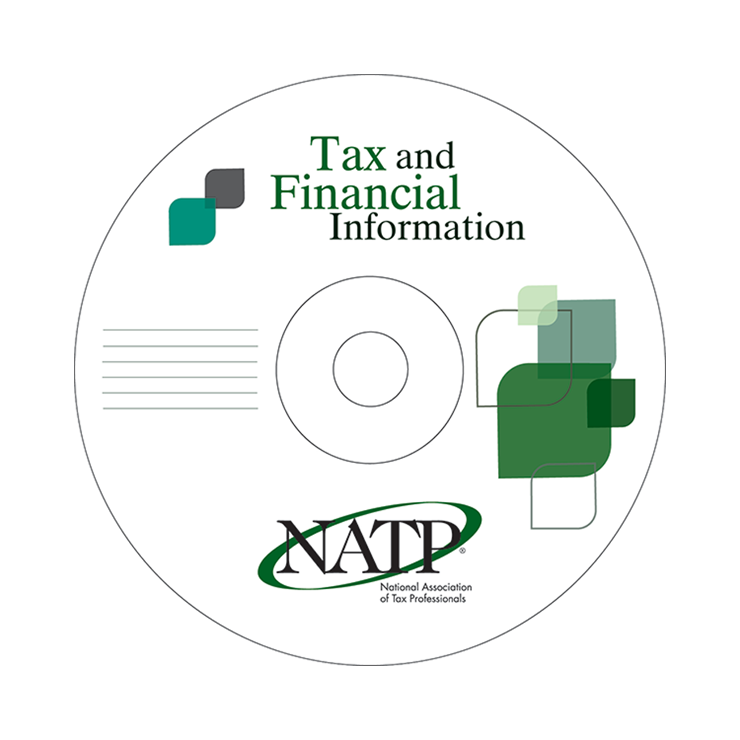 Green and Black CD - Tax & Financial Information - #202