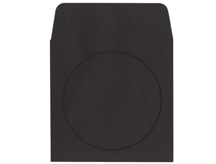 Black CD Envelope - #250