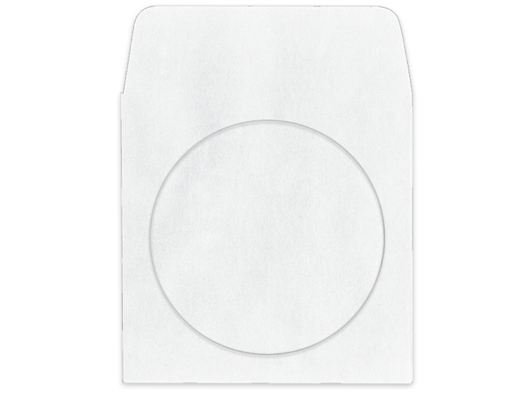 White CD Envelope - #251