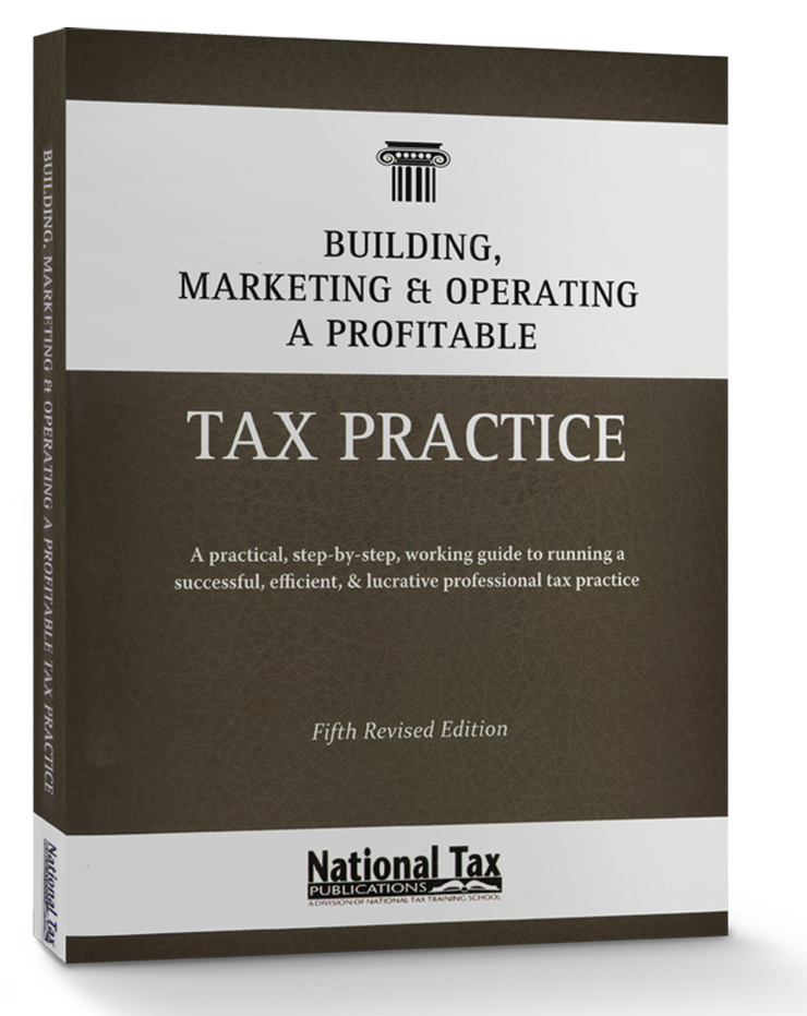 Building, Marketing, & Operating a Profitable Tax Practice - #3225