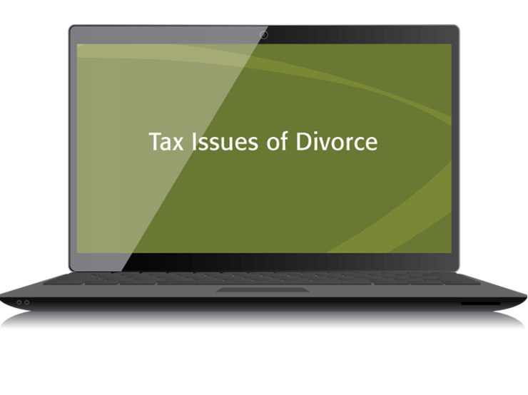 Tax Issues of Divorce Textbook (2015) – Electronic PDF Version - #3357E