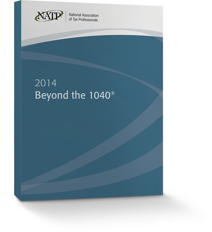 Beyond the 1040 Textbook (2014) − #3402