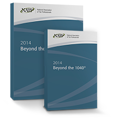 Beyond the 1040 DVD & Textbook (2014) - #3402DB