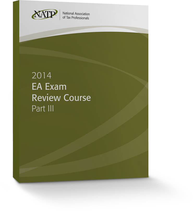 EA Exam Review Course Part III Textbook (2014) - #3405