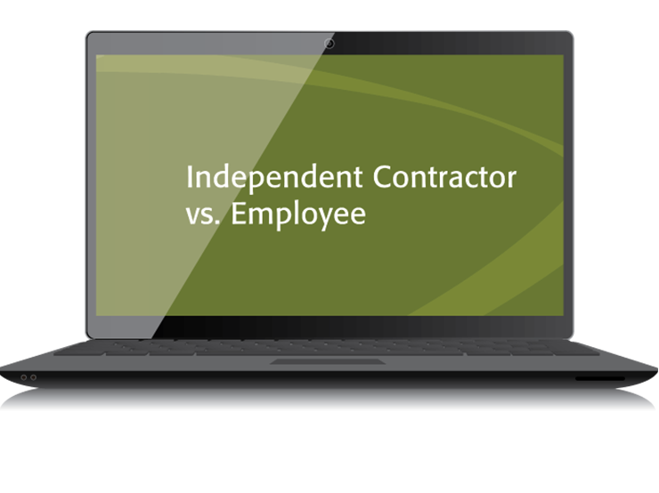 Independent Contractor vs. Employee Textbook (2015) – Electronic PDF Version - #3432E