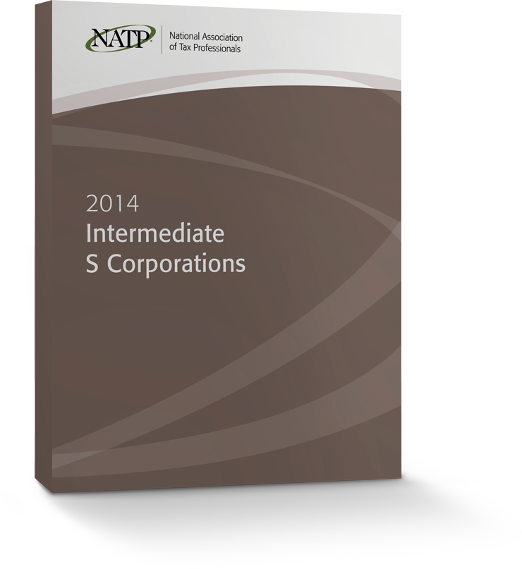 Intermediate S Corporations Textbook (2014) - #3439S