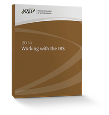 Working with the IRS Textbook (2014) - #3454