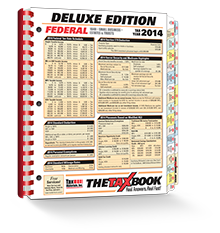 TheTaxBook Deluxe Edition Fast Answer Tax Book (2014) - #3482