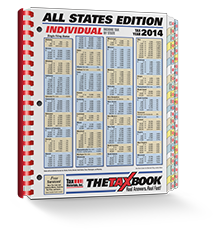 TheTaxBook All States Edition Fast Answer Tax Book (2014) - #3487