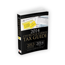 Church and Clergy Tax Guide (2014) – 3492