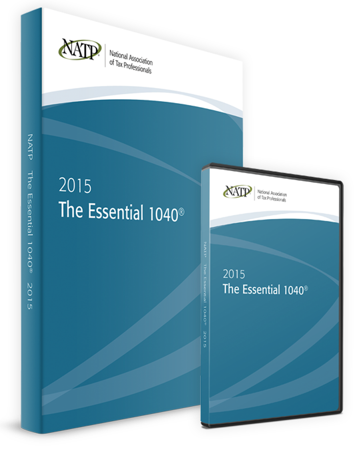 The Essential 1040 DVD & Textbook (2015) - #3501DB