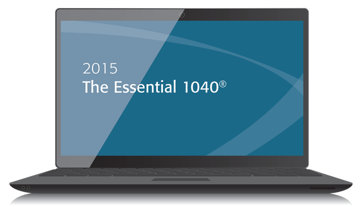 The Essential 1040 Textbook (2015) – Electronic PDF Version - #3501E
