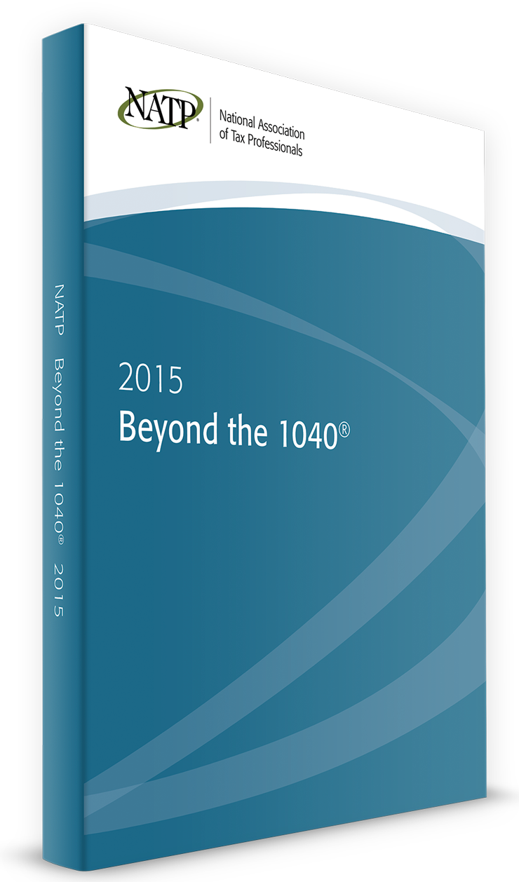 Beyond the 1040 Textbook (2015) − #3502