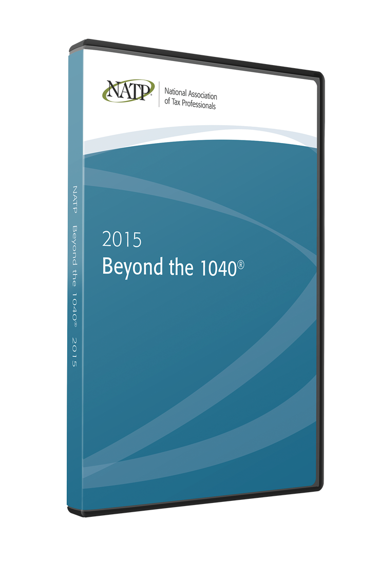 Beyond the 1040 DVD (2015) - #3502D