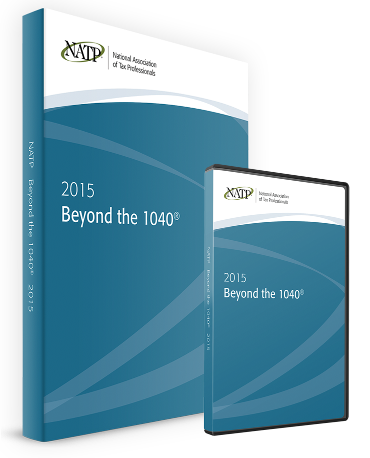 Beyond the 1040 DVD & Textbook (2015) - #3502DB