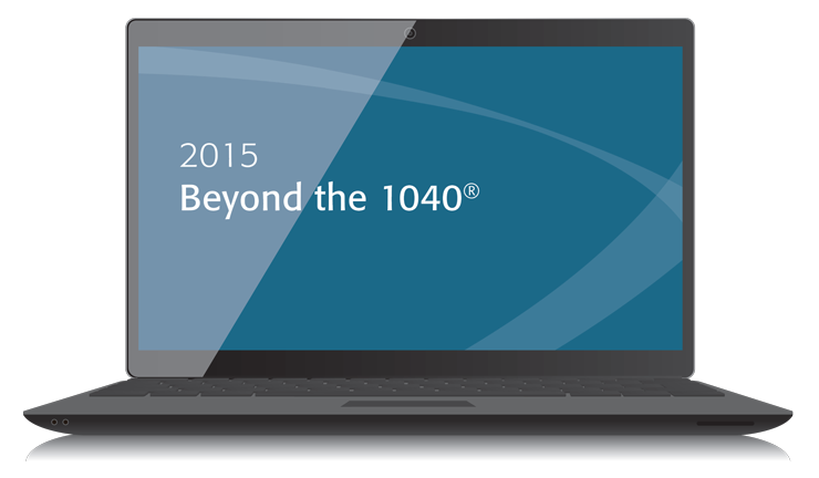 Beyond the 1040 Textbook (2015) – Electronic PDF Version - #3502E
