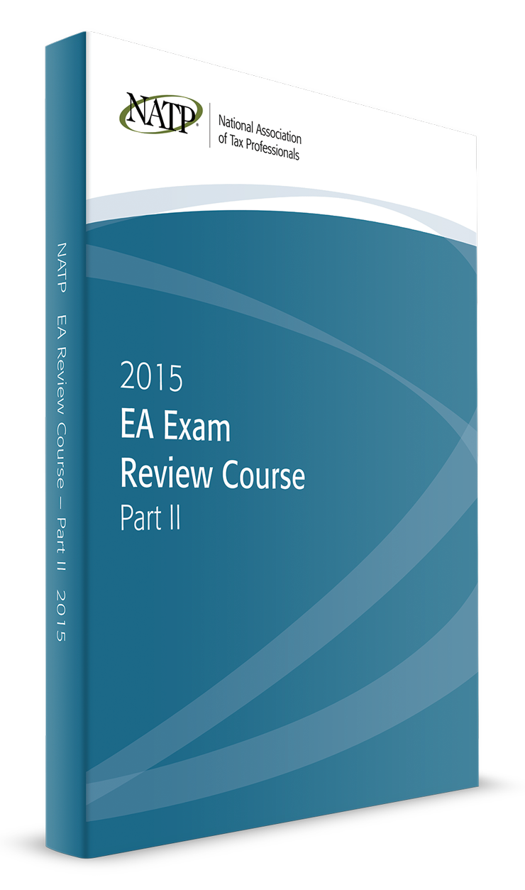 EA Exam Review Course Part II Textbook (2015) - #3504