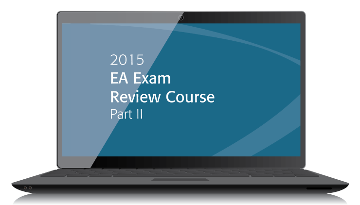 EA Exam Review Course Part II Textbook (2015)- Electronic PDF Version  - #3504E