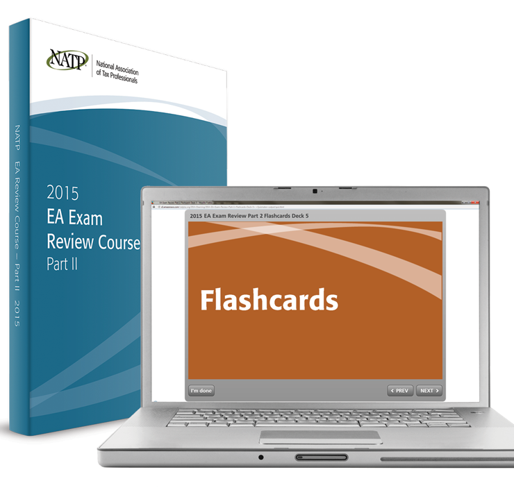 EA Exam Review Course Electronic Flashcards - Part II (2015) - #3504F