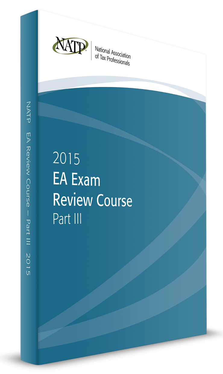 EA Exam Review Course Part III Textbook (2015) - #3505