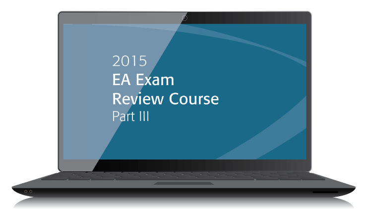 EA Exam Review Course Part III Textbook (2015) - Electronic PDF Version - #3505E