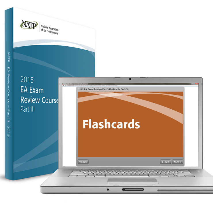 EA Exam Review Course Electronic Flashcards - Part III (2015) - #3505F