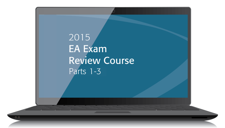 EA Exam Review Course Textbooks - Parts I, II & III (2015) - Electronic PDF Version - #3506E