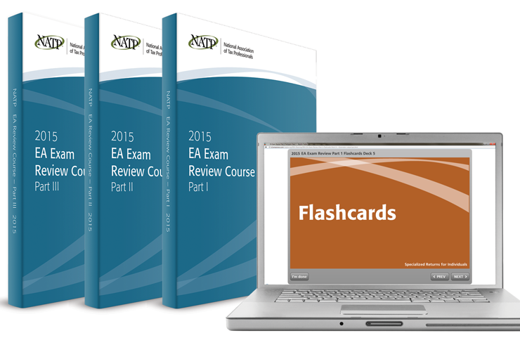 EA Exam Review Course Electronic Flashcards - Parts I, II & III (2015) - #3506F