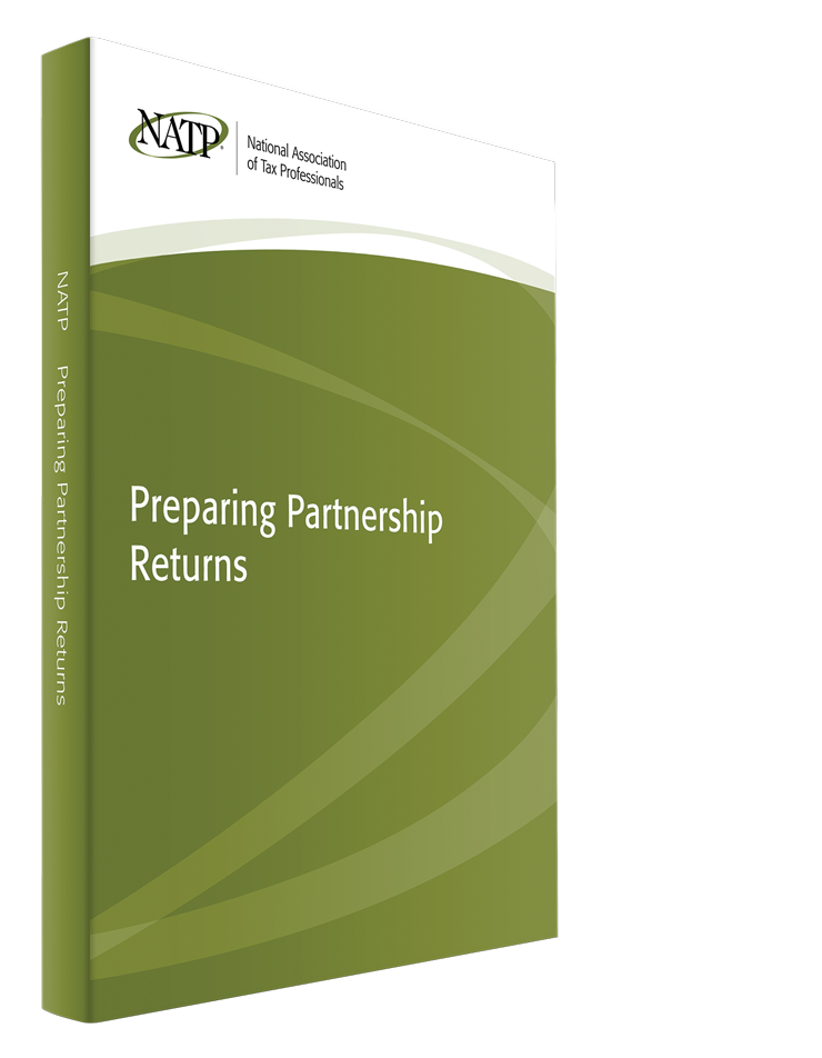 Preparing Partnership Returns Textbook (2015) - #3547