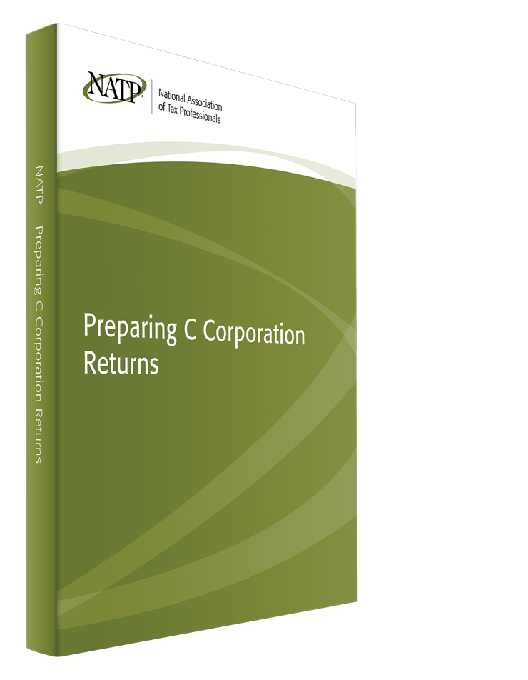 Preparing C Corporation Returns Textbook (2015) - #3548C