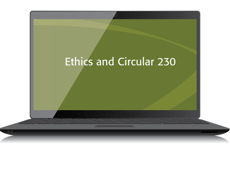 Ethics and Circular 230 Textbook (2015) – Electronic PDF Version - #3552E