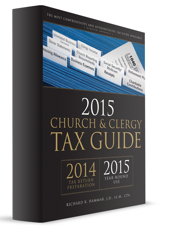 Church and Clergy Tax Guide (2015) – #3592