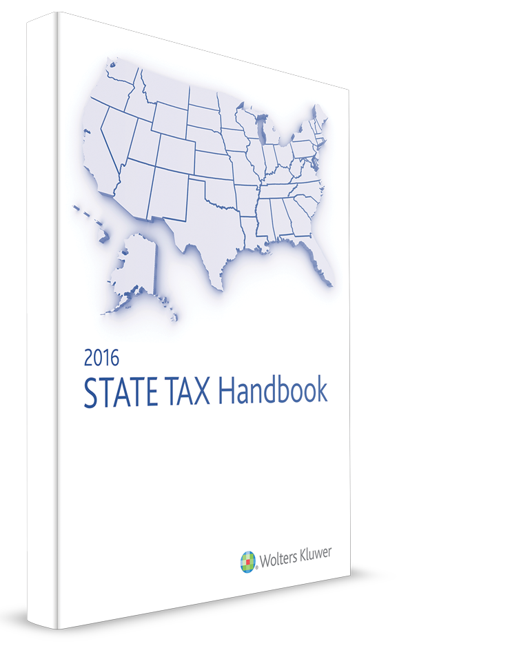 CCH State Tax Handbook (2016 Edition/2015 Tax Year) – #3596