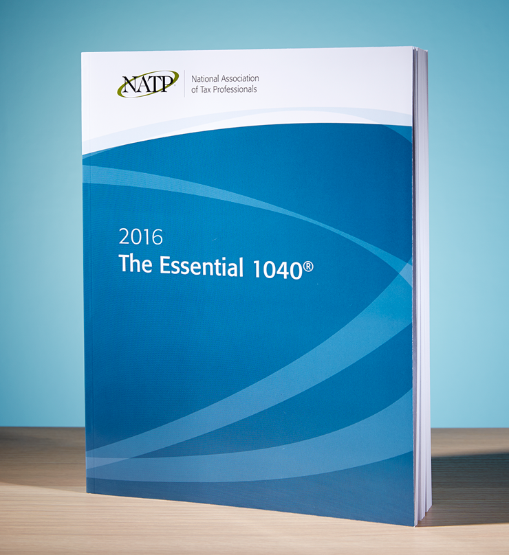 The Essential 1040 Textbook (2016) - #3601
