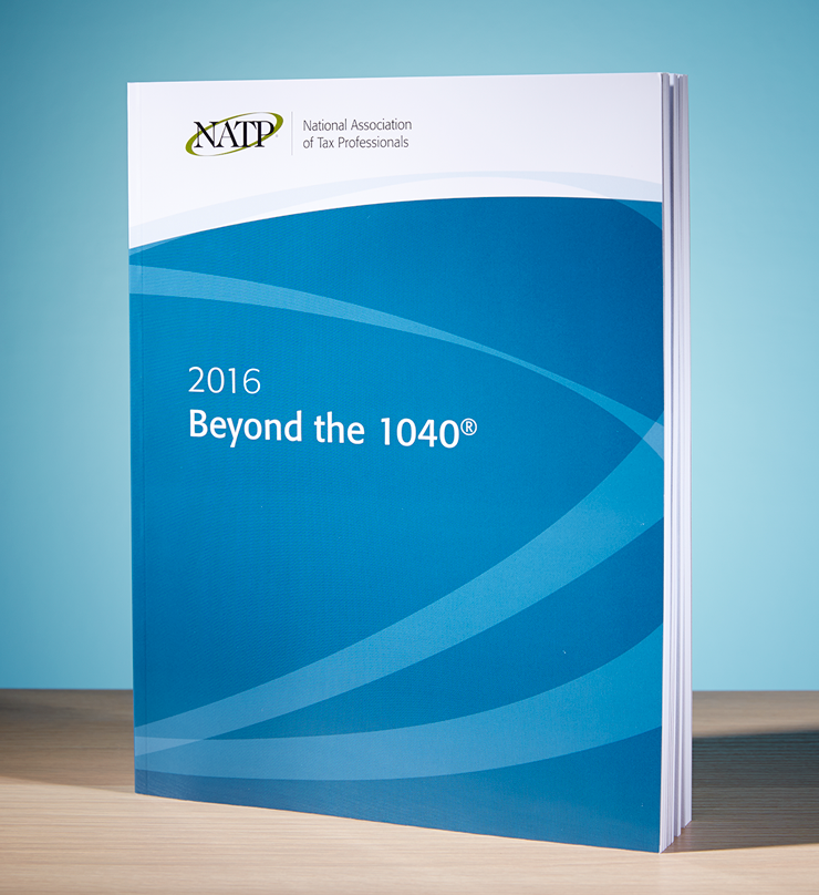 Beyond the 1040 Textbook (2016) - #3602