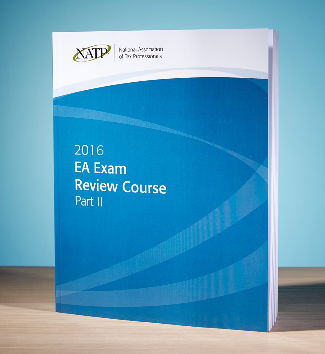EA Exam Review Course Part II Textbook (2016) - #3604
