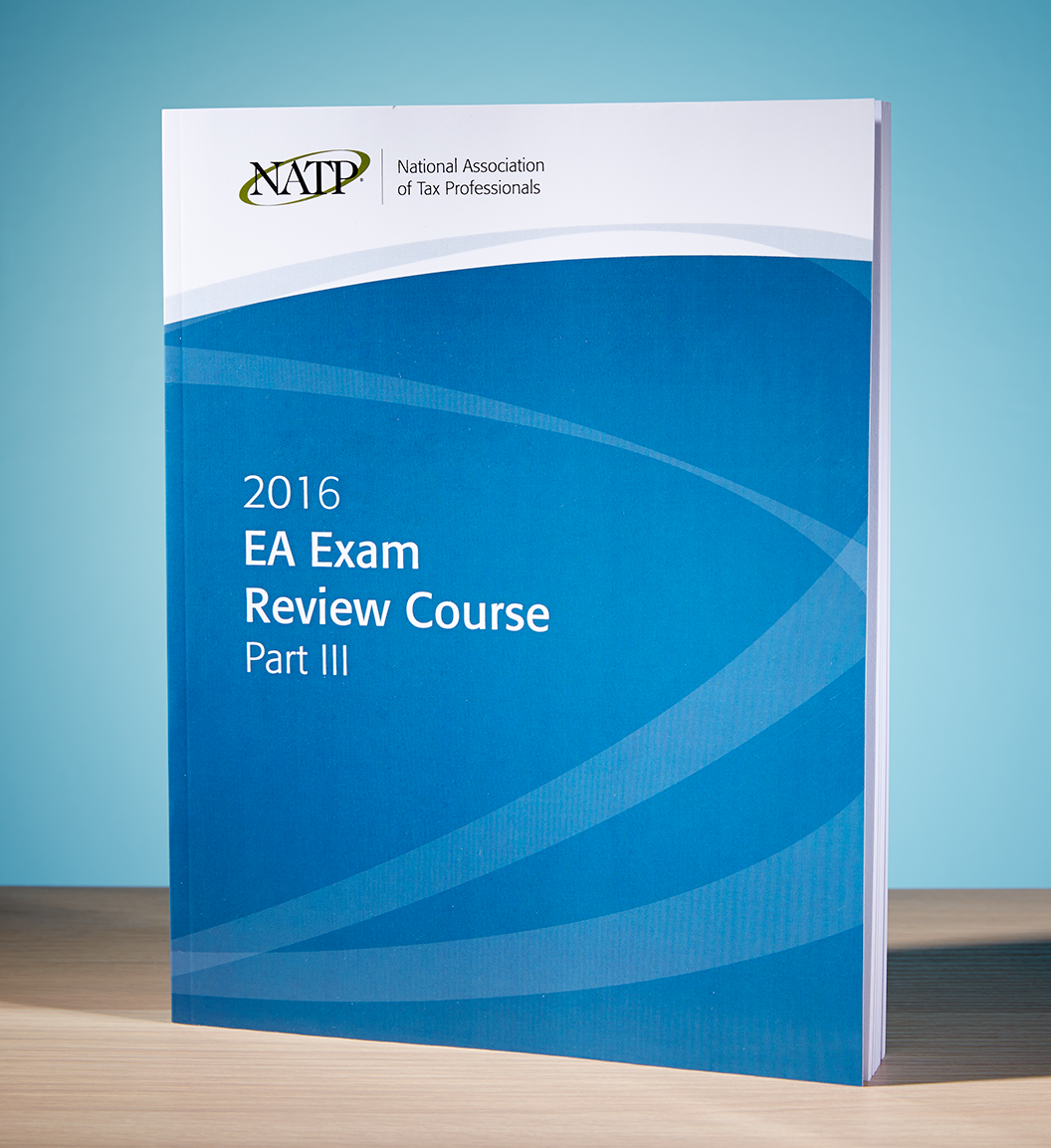 EA Exam Review Course Part III Textbook (2016) - #3605