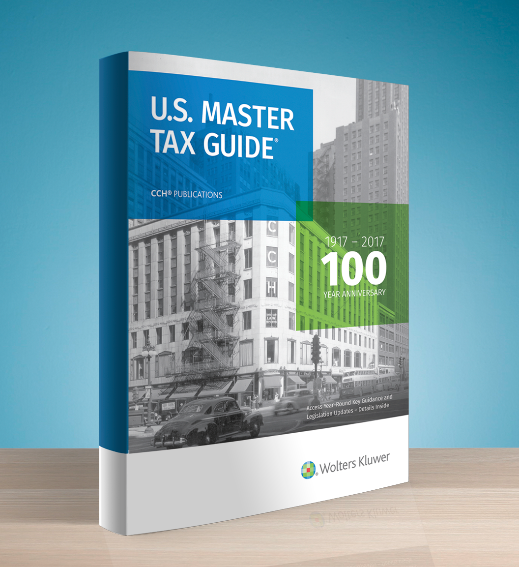 CCH U.S. Master Tax Guide (2017 Edition/2016 Tax Year) – #3616