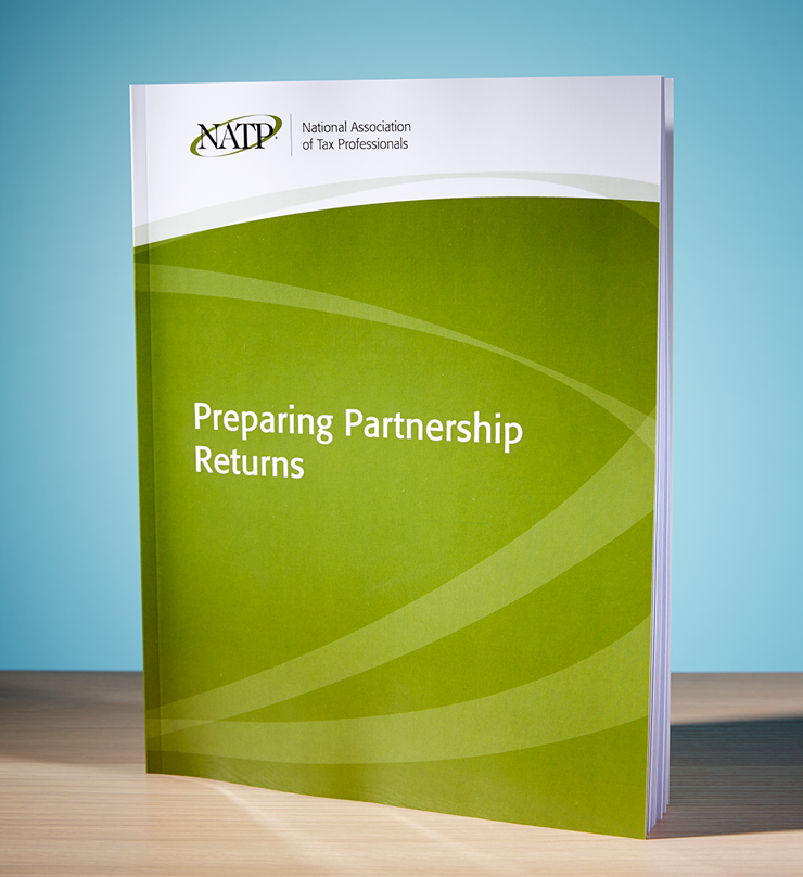 Preparing Partnership Returns Textbook (2016) - #3647
