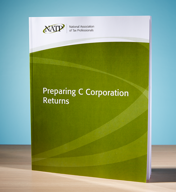 Preparing C Corporation Returns Textbook (2016) - #3648C