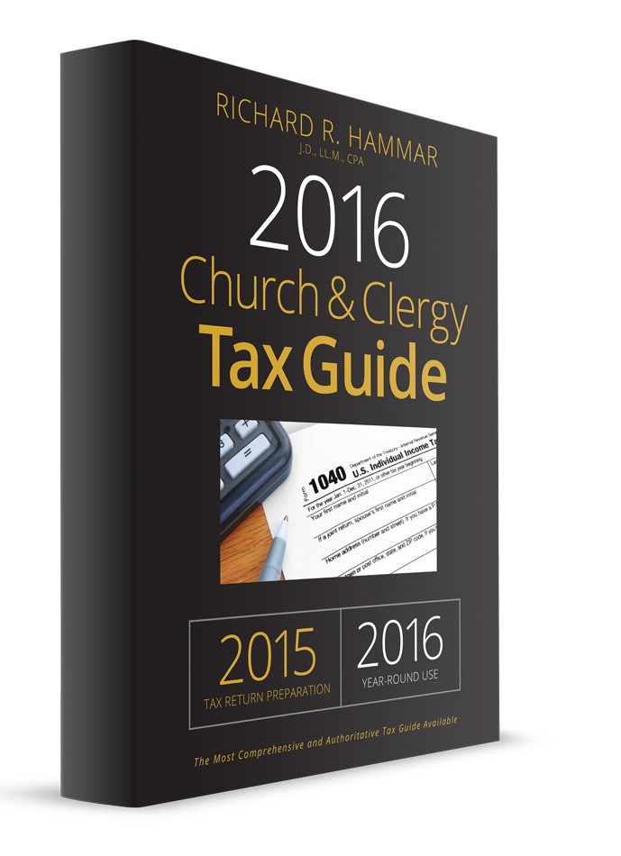 Church and Clergy Tax Guide (2016) – #3692