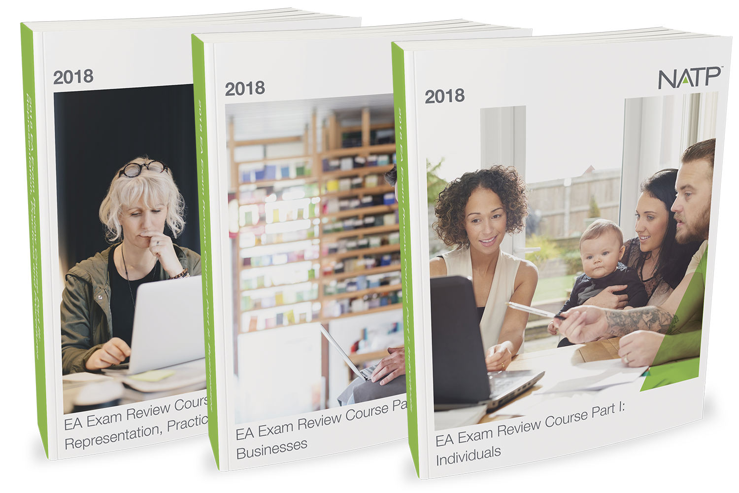 EA Exam Review Course Textbooks – All 3 Parts (2018) - #3806