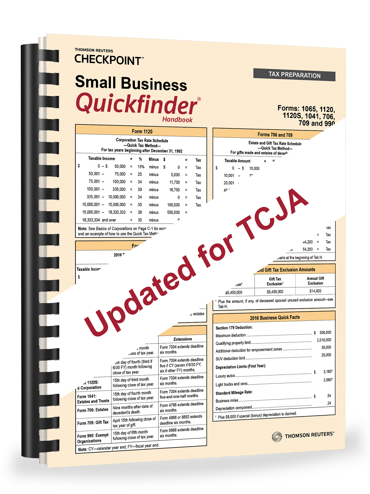 Small Business Quickfinder Handbook (2018) - #3885