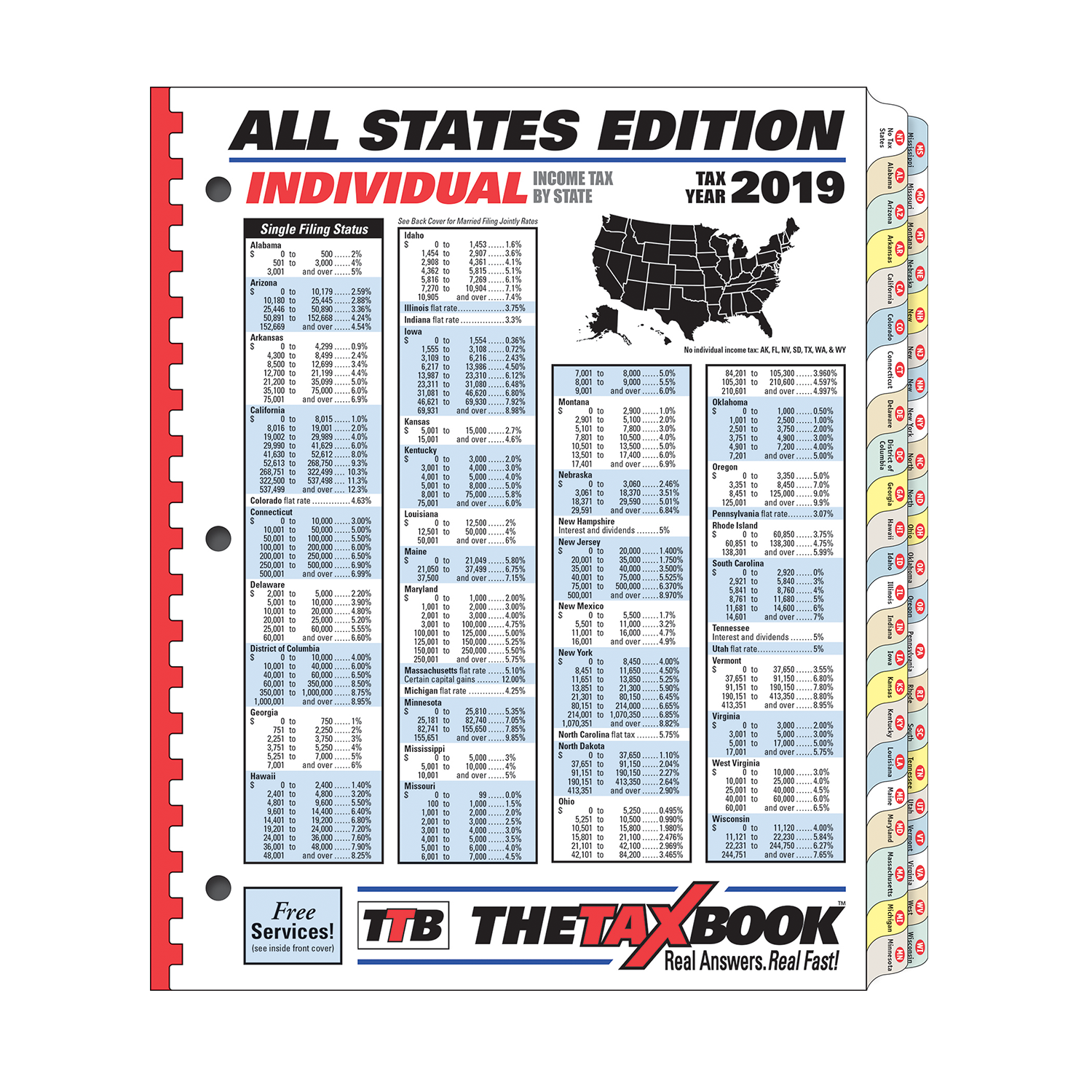TheTaxBook All States Edition Fast Answer Tax Book (2019) - #3987