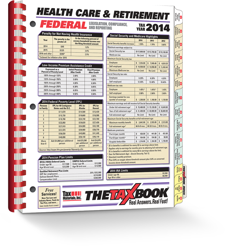 TheTaxBook Health Care & Retirement (2014) - #4413