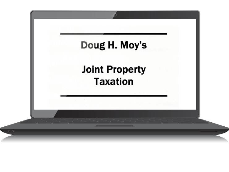 Joint Property Taxation – Electronic PDF Book - #4434E